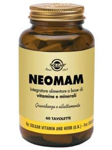 Neomam solgar integratore donne gravidanza