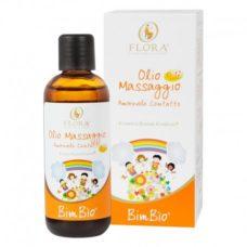 olio massaggio flora bimbio