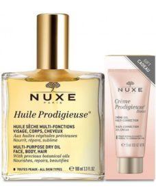 nuxe huile prodigieuse creme boost multi correction