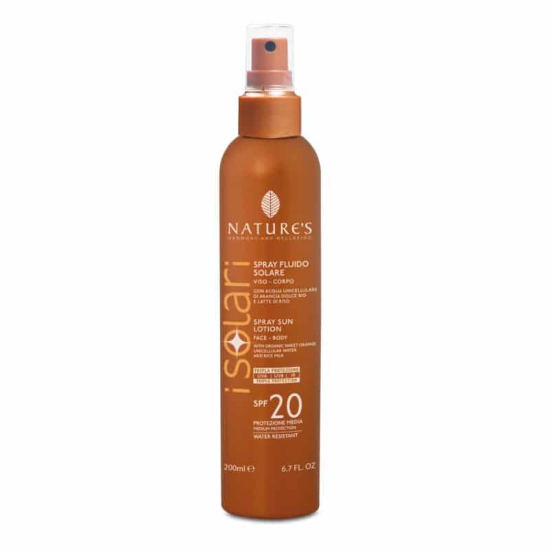 natures Spray Fluido SPF20
