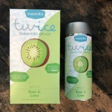 tisana twice kiwi e lime neavita infusione a freddo