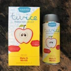 tisana twice mela e mirtilli neavita infusione a freddo