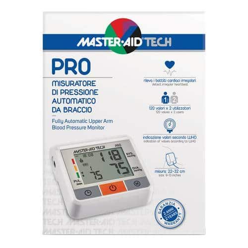 tech pro misuratore di pressione master aid