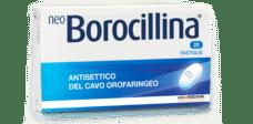 NeoBorocillina, mal di gola, antisettico, disinfettante