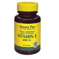 vitamina e 400iu softgel natures plus